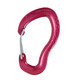 AustriAlpin Micro Carabiner Wire hanger, crimson, anodised red